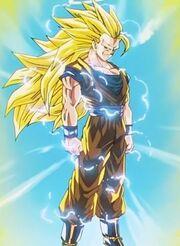Super Saiyan 3 aura