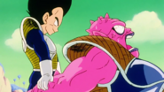 Vegeta Overwhelms Dodoria
