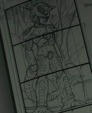 Frieza regenerated storyboard