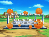 Mr. Satan Takes the Stage! The Curtain Rises On the Cell Games!