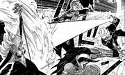 Gohan Xeno fights demons