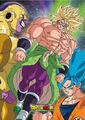 Gold Hair SSFP Broly