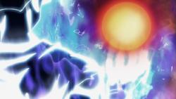 Son Goku egoísta anulando Magnetrón Sobrecalentado