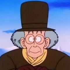Il sindaco del villaggio.