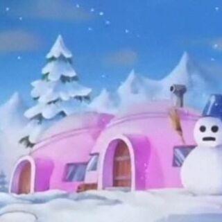 Alcune case del Villaggio Jingle.