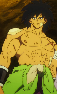 Broly post battle