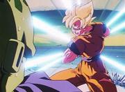 Goku Onda Energetica Teletrasporto