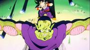 Piccolo salva Gohan
