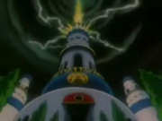 Castillo Real antes de su destrucción en Dragon Ball GT