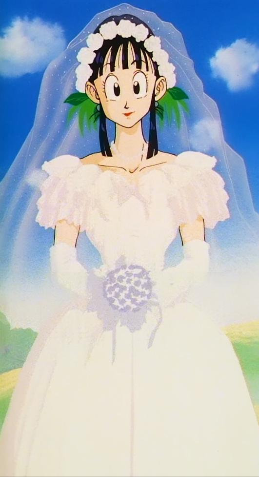 Image - Chichi Wedding..JPG | Dragon Ball Wiki | FANDOM powered by Wikia