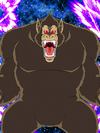 Dokkan Battle Emerging Power Goku (Youth) (Great Ape) card (Great Ape Mode)