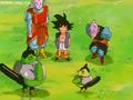 Goku with his pants down