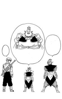 Grande Kaiohshin Potara contenuto extra Volume 4