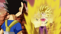 Kyabe is caulifla ssj