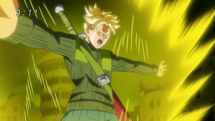 Trunks del Futuro Final Flash