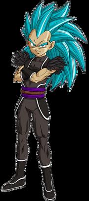 Basaku (Super Saiyan Blue) (Artwork)