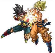Goku Bardock Father Son Kamehameha