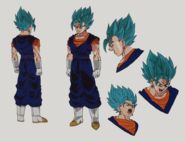 Vegetto Blue Boceto Jump Festa