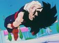 Gohan hits the ground hard3
