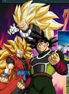 Guerreros Xeno Goku Vegeta Bardock