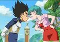 Vegeta and Bulma arguing