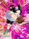 Dokkan Battle Blazing Justice Videl card (Videl Pigtails SR-SSR)