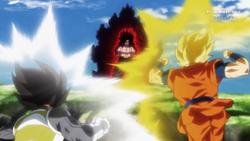 Goku n beji camba