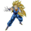 Vegetto (Super Saiyan 3) (Artwork)
