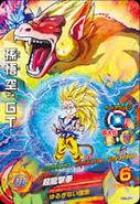 Carta Goku gt ssj3-Ozaru dorado DB heroes