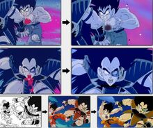Differenze morte di Radhis e Goku