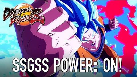 Dragon Ball FighterZ - PS4 XB1 PC - SSGSS power ON!