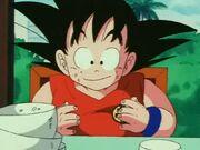 Goku stuffed ep 92