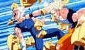 Saga Majin Boo Vegeta vs Goku