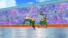 Tien vs. Android 13, Chiaotzu and Master Shen vs. Android 14 - Dragon Ball Heroes trailer