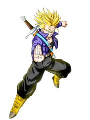Trunks du Futur (Super Saiyan 2) (Artwork)