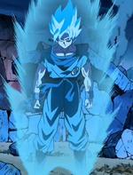 Blue Super Saiyan Goku