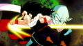 Gohan fighting garlic jr3