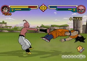 Goku Kid Buu 2 Budokai 2