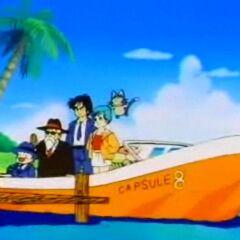 Il motoscafo Capsule Boat 8.