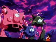 Maquines Pilaf vs Goku
