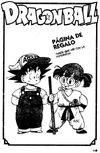 Página de regalo - Goku es Arale y Arale es Goku