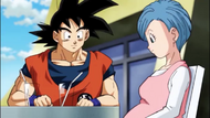 Son Goku y Buruma Paz
