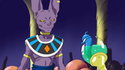 Beerus talks to Yogengyo