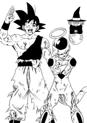 Goku Freezer Manga DBS