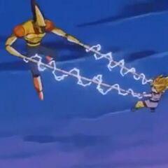 Mucchi vs Son Goku.