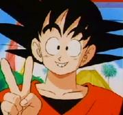 Teen Goku Peace