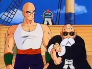 Tenshinhan e Muten contro i pirati