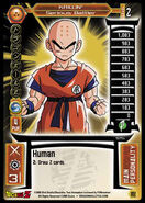 125 Krillin - Serious Battler, DBZ TCG 2005 Score Entertaiment