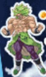 Broly Super Super Saiyan Legendario Artwork