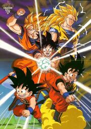 GokuOverTheYears